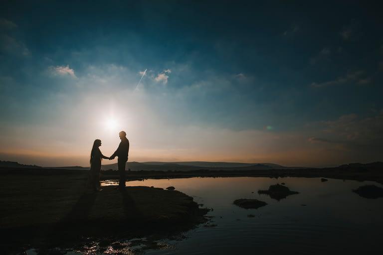 couple on dartmoor