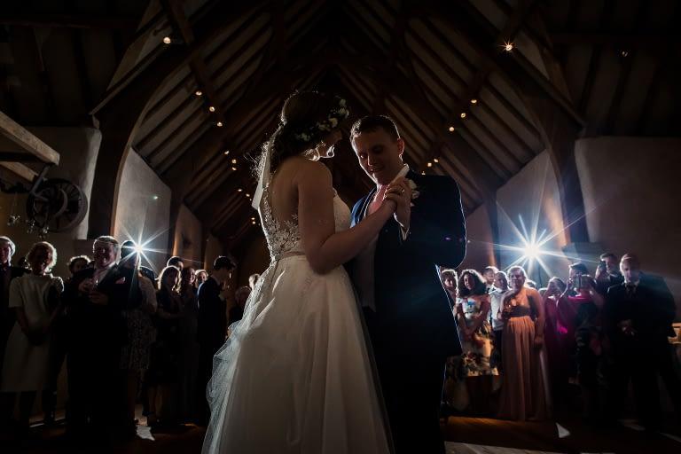Great barn wedding, First dance
